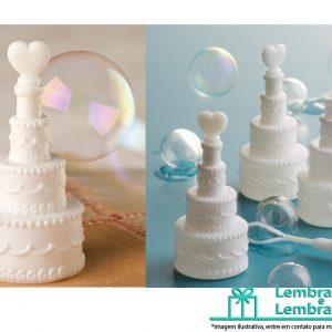 Lembrancinhas de casamento Mini bolo Bolhas de Sabão, Bolo bolhas de sabão, bolhas de sabão casamento
