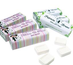 lembrancinhas de casamento pastilhas personalizadas