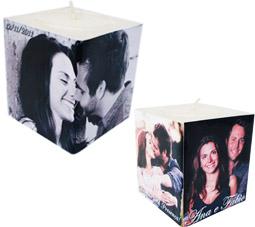 lembrancinhas de casamento velas personalizadas