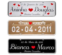 Placas Personalizadas para Casamento