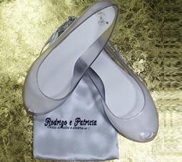 Sapatilhas personalizadas para casamento