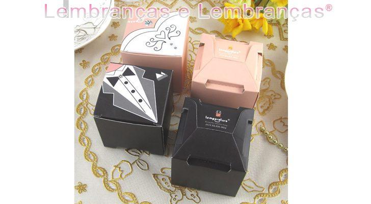 Lembrancinhas de casamento caixinha Noivo e Noiva