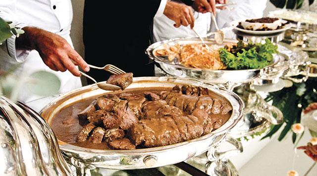 comida casamento , pratos para casamento , comida opção casamento