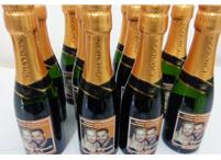 Lembrancinhas de casamento garrafa chandon personalizada Campo Grande - Minas Gerais