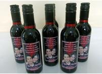 Lembrancinhas de casamento garrafa de vinho personalizado Piracicaba - São Paulo