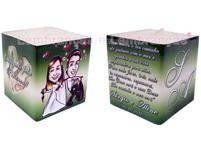 Lembrancinhas de casamento velitas personalizadas Aparecida de Goiânia - Goias