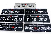 Placas de carro personalizadas Bento Gonçalves - Rio Grande do Sul