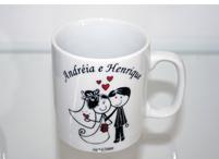 Lembrancinhas de casamento caneca personalizada Várzea Grande - Mato Grosso