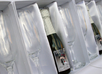 Lembrancinhas de casamento kit chandon three personalizado Linhares - Espirito Santo