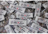 Lembrancinhas de casamento mini chaveiro placa de carro Pindamonhangaba - São Paulo