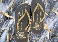 Lembrancinhas de casamento chinelo personalizado Sapucaia do Sul - Rio Grande do Sul