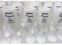 Lembrancinhas de Casamento Taça de Acrilico Personalizada Queimados - Rio de Janeiro