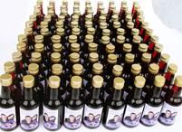 Lembrancinhas de casamento mini vinho personalizado Divinópolis - Minas Gerais