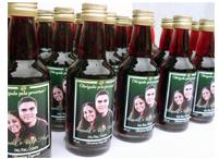 Lembrancinhas de casamento mini vinho personalizado Nova Friburgo - Rio de Janeiro