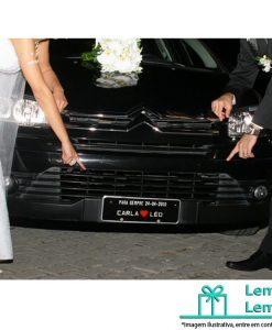 Placas Personalizadas para Carro casamento , Placas Personalizadas para casamento , Placas de carro Personalizadas para casamento , placas casamento