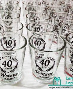 copo de vidro dose shot personalizado, mini copo de vidro dose shot personalizado , Brindes copo de vidro dose shot personalizado , lembrancinhas, copinho de vidro dose shot personalizado