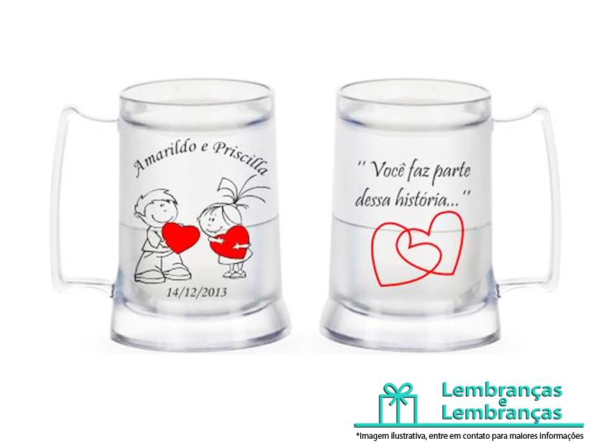 1fd2908f9 Lembrancinhas de casamento Caneca termica Gel Personalizada ...