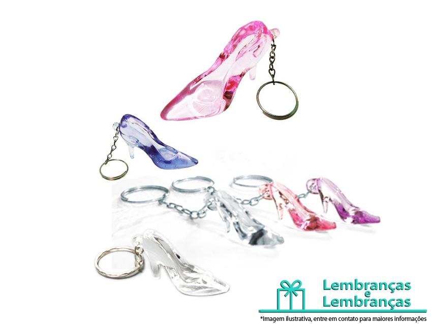 Lembrancinhas Sapatinho de cristal Chaveiro, sapatinho cristal, sapatinhos de cristal para lembrancinha, lembrancinha sapatinho da noiva