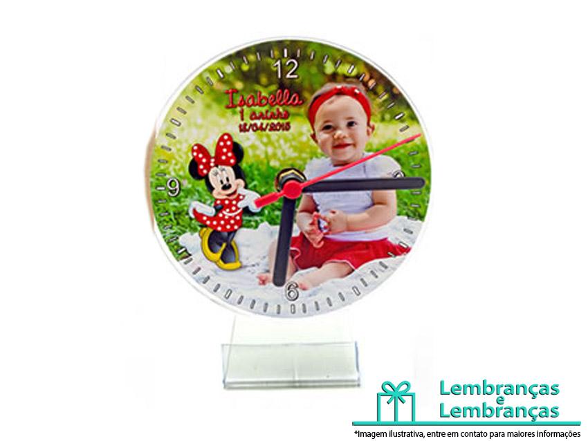 4d766503ed1 Relogio Cd Personalizado para lembrancinha de aniversario infantil ...