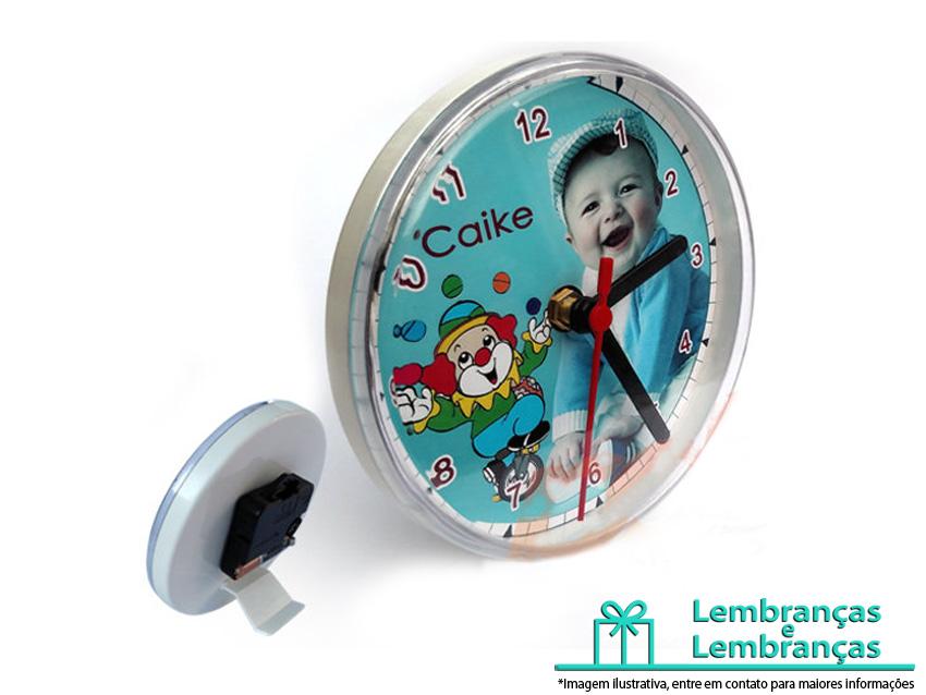 4e28524c970 Relogio Mult Personalizado para lembrancinha de aniversario infantil ...