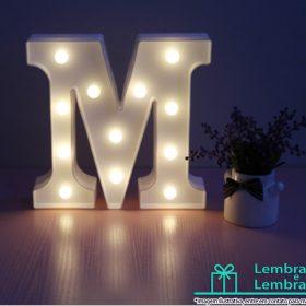 Letras-3d-Led-Luminaria-Letra-M