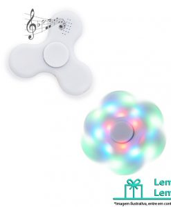 Spinner Anti-Stress Plástico com Led e Bluetooth Brinde ., Spinner Anti-Stress Plástico com Led e Bluetooth Brindes , Spinner Anti-Stress Plástico com Led e Bluetooth , Spinner Anti-Stress Plástico com Led e Bluetooth