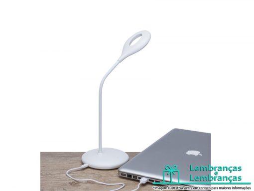 Brinde luminária de mesa flexível com doze LEDs, Brindes luminária de mesa flexível com doze LEDs, Brinde luminária de mesa flexível LEDs, Brindes luminária de mesa com doze LEDs