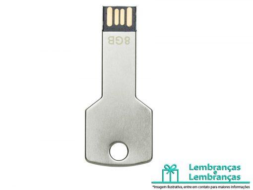 Brinde pen drive alumínio formato chave 8GB, Brindes pen drive alumínio formato chave 8GB, Brinde pen drive alumínio 8GB, Brindes pen drive formato chave 8GB