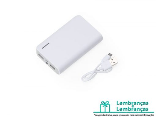 Brinde Power bank Plástico com Lanterna, Power bank Plástico, Brinde Power bank, Brinde Power bank Plástico, Power bank