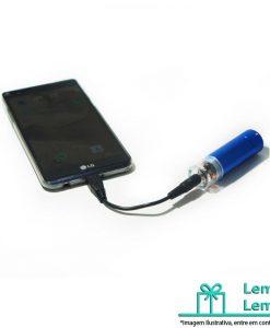 Carregador Emergencial de Celular, Carregador portátil, carregador emergencial