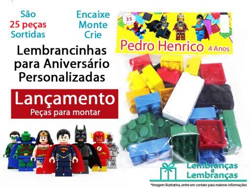 Lembrancinhas de aniversario Infantil Blocos de montar com 25 pecas , peças de montar lembrancinha , blocos para montar lembrancinhas , lego para lembrancinhas, monta monta lembrancinhas , peças para montar lembrancinhas , lembrancinhas de montar , lego lembrancinha de aniversario