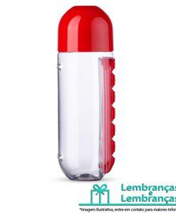 Brinde squeeze 700ml plástico com porta comprimido, Brindes squeeze 700ml plástico com porta comprimido, Brinde squeeze 700ml plástico, Brinde squeeze 700ml com porta comprimido