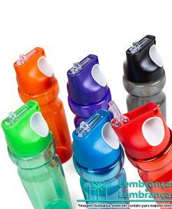 Brinde squeeze plástico 900ml colorido translúcido, Brindes squeeze plástico 900ml colorido translúcido, squeeze plástico 900ml colorido translúcido, squeeze plástico 900ml colorido, garrafa squeeze plástico 900ml colorido