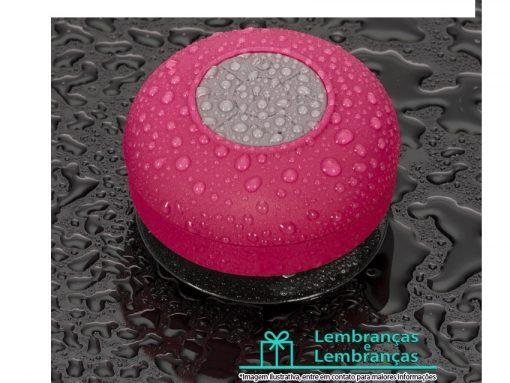Brinde caixa de som emborrachada rosa à prova dágua, Brindes caixa de som emborrachada rosa à prova dágua, caixa de som emborrachada rosa à prova dágua, caixa de som à prova dágua