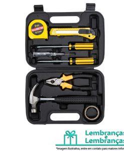 Brinde kit ferramenta 8 peças em estojo plástico, Brindes kit ferramenta 8 peças em estojo plástico, kit de ferramenta 8 peças em estojo plástico, kit ferramenta em estojo plástico