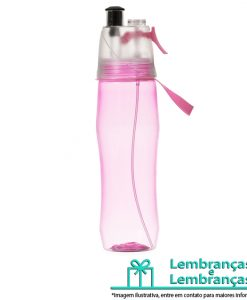 Brinde squeeze plástico 700ml rosa brilhante com borrifador, Brindes squeeze plástico 700ml rosa brilhante com borrifador, squeeze plástico 700ml rosa brilhante com borrifador, squeeze plástico rosa brilhante com borrifador, squeeze plástico 700ml rosa