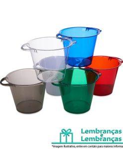Brinde balde de gelo em acrílico colorido com capacidade de 4 litros, Brindes balde de gelo em acrílico colorido com capacidade de 4 litros, balde de gelo em acrílico colorido, balde de gelo com capacidade de 4 litros