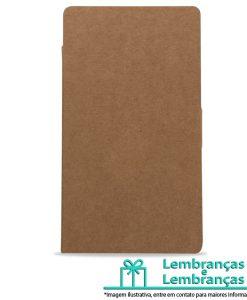 Brinde bloco de anotações ecológico material em kraft, Brindes bloco de anotações ecológico material em kraft, bloco de anotações ecológico, bloco de anotações
