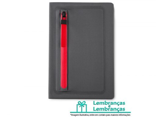 Brinde caderno porta objeto de tecido sintético, Brindes caderno porta objeto de tecido sintético, caderno porta objeto de tecido sintético, caderno de tecido sintético, caderno porta objeto