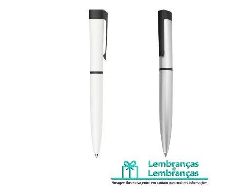 Brinde caneta metal de pintura fosca, Brindes caneta metal de pintura fosca, caneta metal de pintura fosca, Brinde caneta metal, caneta de metal branca