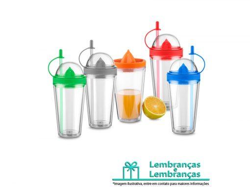 Brinde copo plástico 500ml com espremedor de frutas, Brindes copo plástico 500ml com espremedor de frutas, Brinde copo plástico 500ml, copo plástico 500ml, copo plástico, copo 500ml com espremedor de frutas