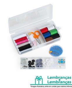 Brinde kit costura em estojo plástico, Brindes kit costura em estojo plástico, kit costura em estojo plástico, kit costura