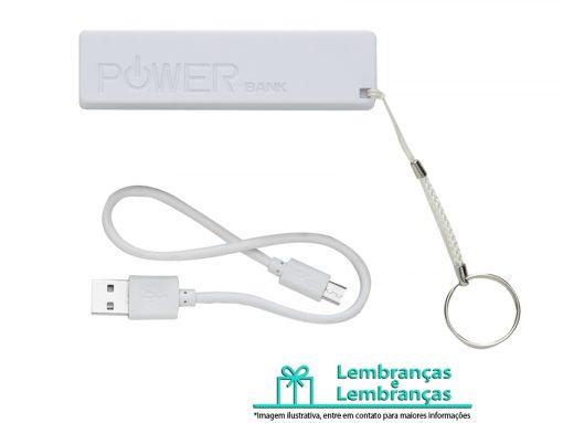 Brinde power bank plástico branco, Brindes power bank plástico branco, power bank, power bank plástico, power bank branco