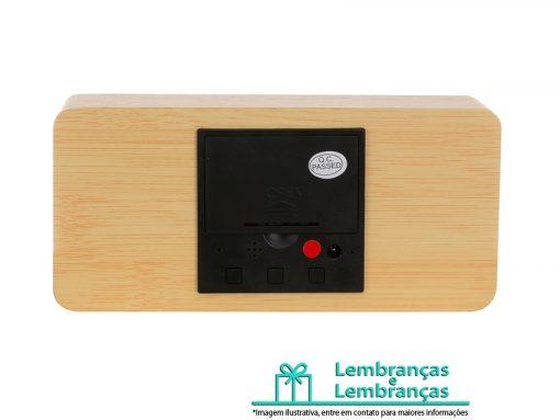 Brinde relógio digital LED com alarme, Brindes relógio digital LED com alarme, Brinde relógio digital LED, relógio digital LED com alarme, relógio digital LED, relógio de madeira, relógio de madeira digital